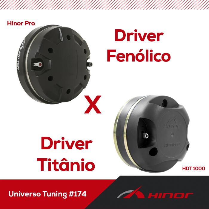 Universo Tuning #175 - Driver Titânio ou Fenólico?