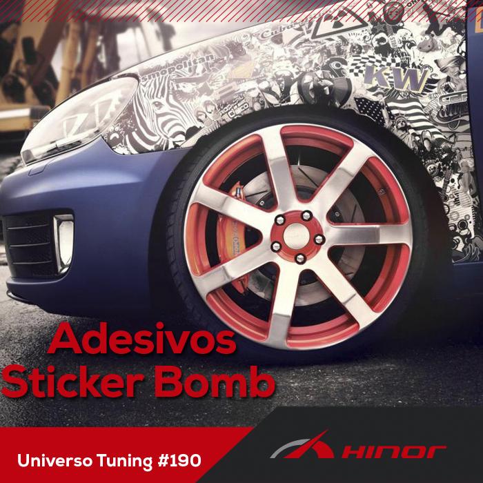 Universo Tunning #190 -  Adesivos Sticker Bomb