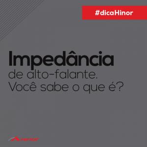 Dica - Impeda¦éncia