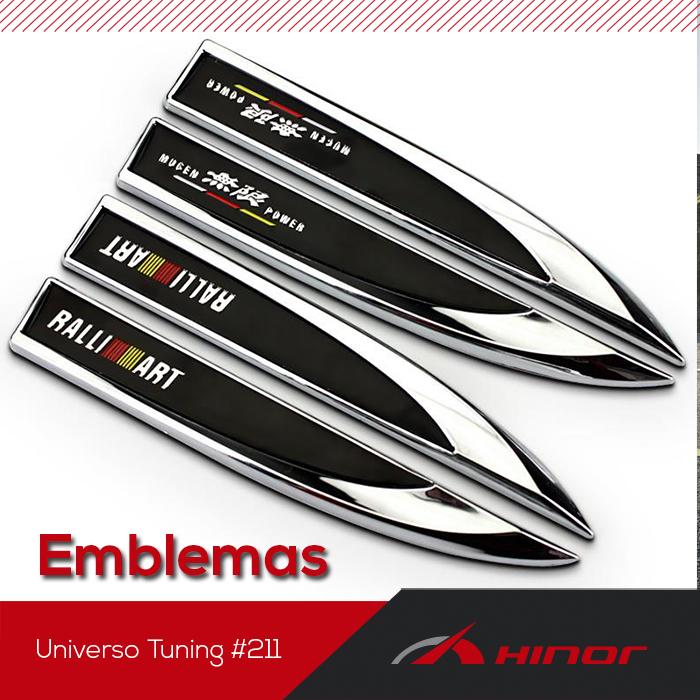 Universo Tuning #211 - Emblemas personalizados