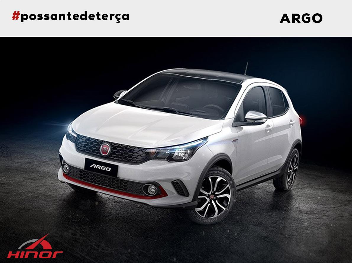 Fiat Argo - Possante de Terça